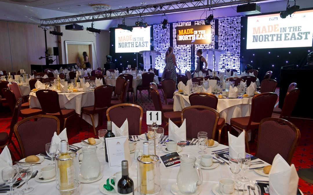Clear Business Outcome Sponsors 2018's Made in the North East Awards